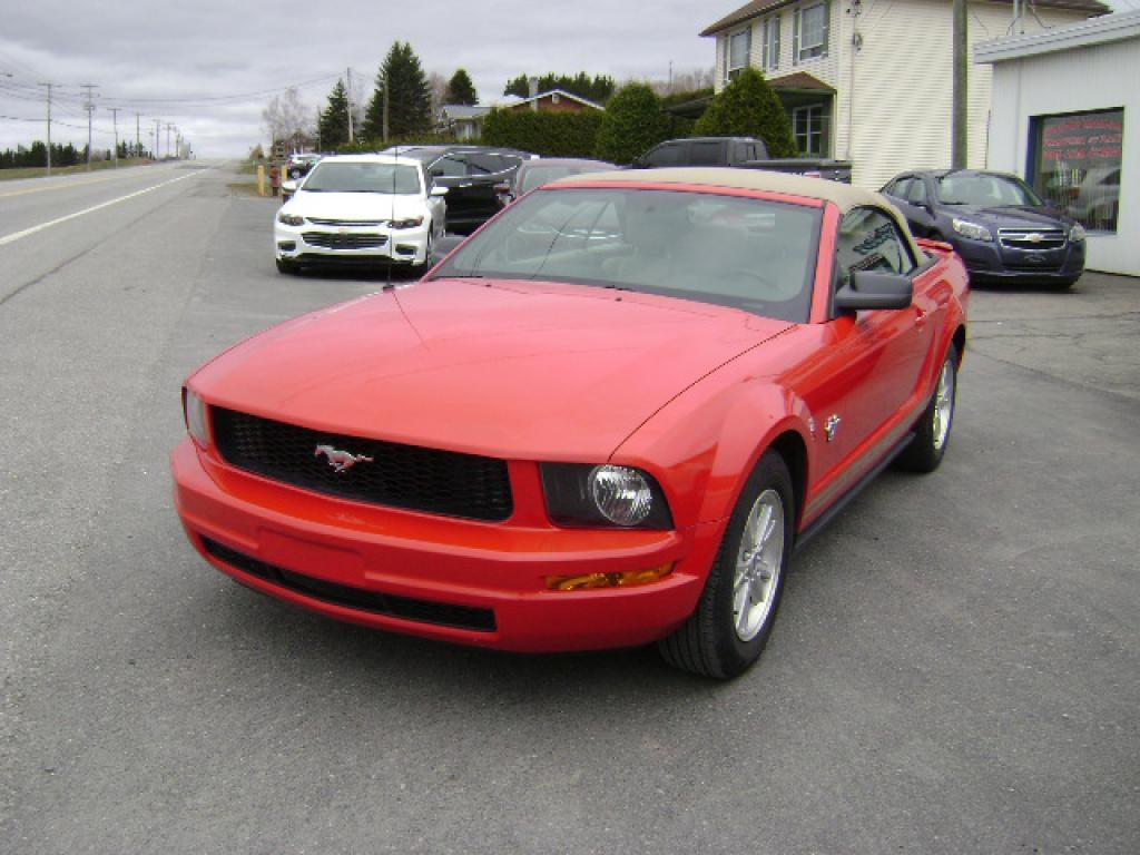 Used ford mustang 2009 for sale christian bolduc auto inc