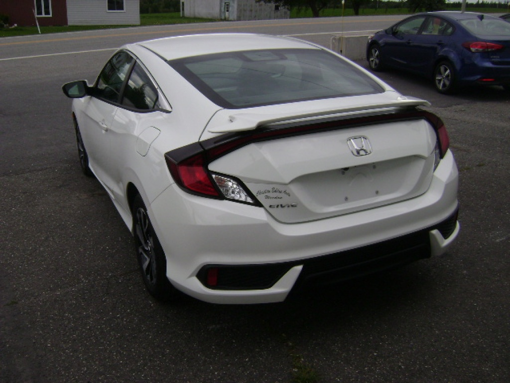 Photo -  Civic Coupé 2016